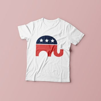 Elephant Tee. Vote Donald Trump Republican 2016 Political T-Shirt