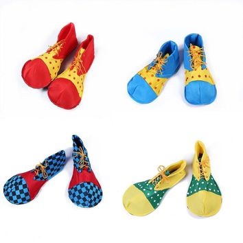 Clown Shoes Kids Adults Cosplay Costume  Performance Props  Carnival Party Dress     Halloween Christmas