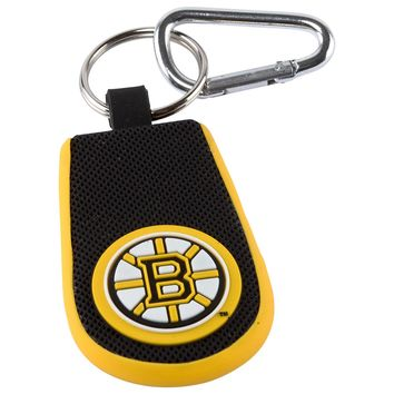 Boston Bruins Classic Hockey Keychain