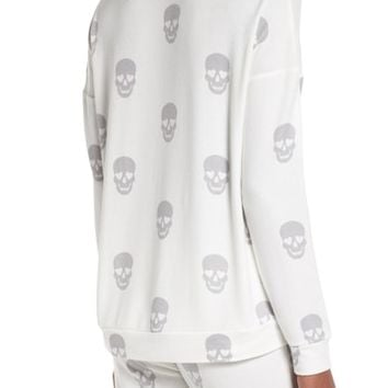 PJ Salvage Skull Lounge Top | Nordstrom