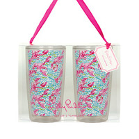 Insulated Tumbler Set - Lilly Pulitzer