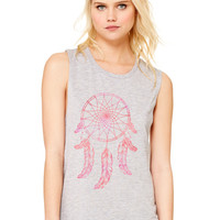 Dream Catcher, Bohemian, Festival Women's Flowy Muscle Tank by Bella