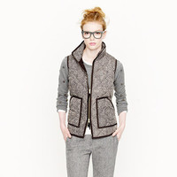 Excursion quilted vest in herringbone - AllProducts - sale - J.Crew