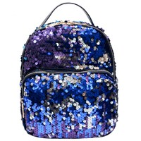 Bling Bling Sequins Backpack Women School Bags PU Princess Backpack Bag All-match Small Travel Sequins Backpack mochila escolar