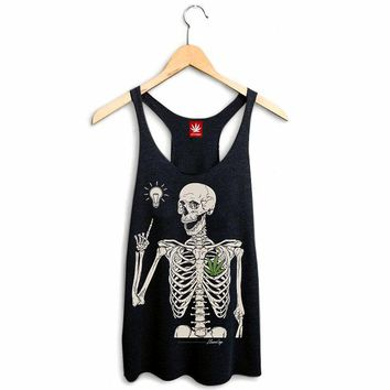 WOMEN'S STONED TO THE BONE RACERBACK