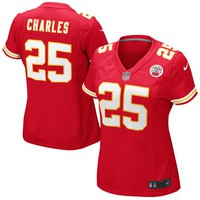 Nike Jamaal Charles Kansas City Chiefs Women's Game Jersey - Red
