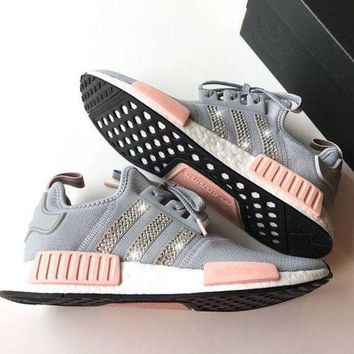 Adidas NMD NMD_R1 W Glittering Breathable Running Sports Shoes Sneakers F