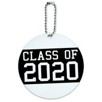 Class of 2020 Graduation Round ID Card Luggage Tag