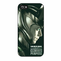 Tom Hiddleston Lokiavengers Glorious iPhone 5s Case