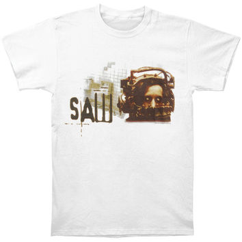 Saw  Girls Jr Soft Tee White Rockabilia