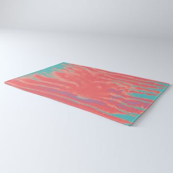 summer sultry Rug by duckyb