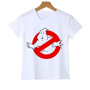 New Movie Ghostbusters T Shirt Kid 2018 Summer T-shirt Crew Neck Baby Tshirt Children Infant Toddler Boy Girl Tops Tees Z26-4