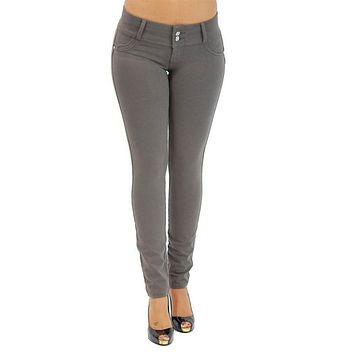 High Waist Slim Skinny Women's Leggings Stretchy Jeggings Pencil Pants Trousers