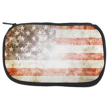 4th of July American Flag Star Spangled Banner Travel Bag