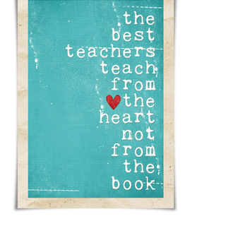 Teacher Gift The Best Teachers Original by hairbrainedschemes