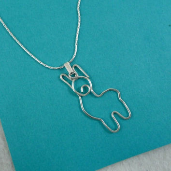 Adorable Alpaca Pendant