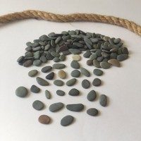 150 pc Tiny&Midi Beach Stones/ Round Sea Stones/ Crafting Beach Stones/ Flat Stone/ Pebble Art/ Stone Supply/ Beach Pebbles