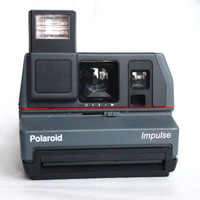 WORKING Vintage Polaroid Camera, 600 Type Film, Impulse | Tested Instant Film Photography Vintage Retro
