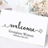 Place Cards Wedding Place Card Template DIY Editable Printable Place Cards Elegant Place Cards Script Place Card Tented White Place Card