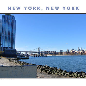 Brooklyn On Waterfront... New York City Photo Art #872