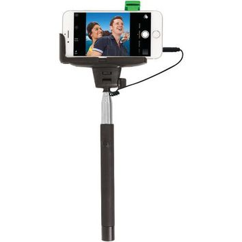 Retrak Iphone 4 And 5 And 5s And 6 And 6s & Samsung Galaxy S Iii And 4 Selfie Stick With Wired Shutter (pack of 1 Ea)
