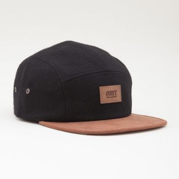 OBEY - Shasta 5 Panel Cap, Black