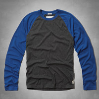 Elk Lake Baseball Tee