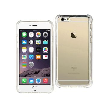 iPhone 6S/ 6 Clear Bumper Case With Air Cushion Protection (Clear)