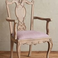 Handcarved Tassel Dining Chair by Anthropologie