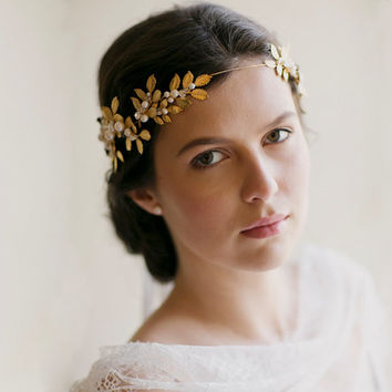 Grecian crown, wedding crown - Octavia 1910