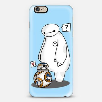 Baymax meets BB8 iPhone 6s case by Roxanneeee | Casetify