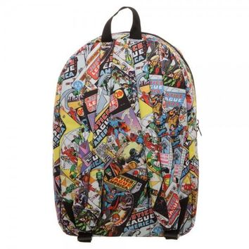 DC Comics - Justice League All Over Print QT Backpack