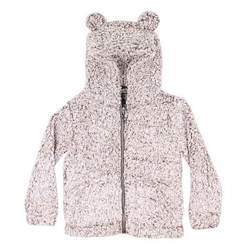 CHILD'S Frosty Tip Teddy Bear Pullover in Brown by True Grit