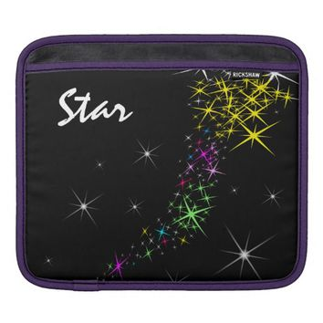 Christmas Star iPad Sleeves
