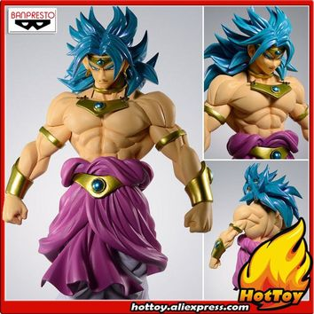 "100% Original Banpresto Scultures Colosseum BIG Zoukei Tenkaichi Budoukai 7 Vol.3 Collection Figure - Broly from ""Dragon Ball Z"""