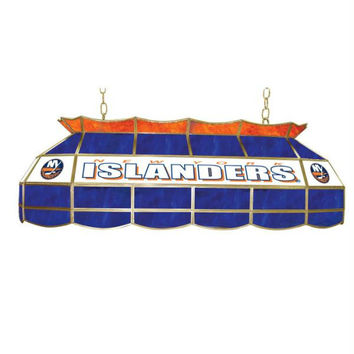 NHL New York Islanders Stained Glass 40 inch Lighting Fixtur