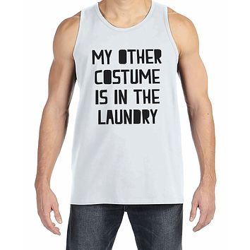 7 ate 9 Apparel Men's Funny Halloween Costume Tank Top