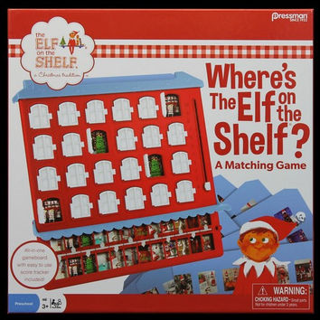 Where's the Elf on the Shelf Matching Game