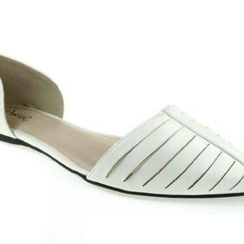 Women's Pointer-54 Closed Back & Pointy Toe Dress Flats Shoes