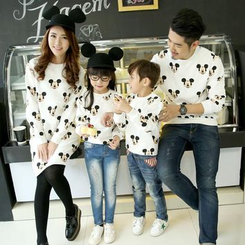 Matching Family Mickey Mouse Outfits