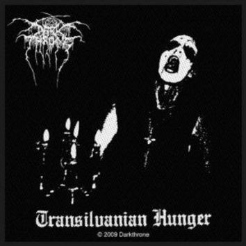 Darkthrone Sew On Patch Transilvanian Hunger Logo