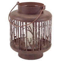 Falling Leaves Collection Forest Lantern (Set of 2 )