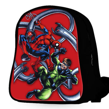 Spiderman Vs Dr Octo Backpack
