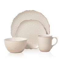 Pfaltzgaff Everyday Chateau Cream 16-piece Dinnerware Set | Overstock.com Shopping - The Best Deals on Casual Dinnerware
