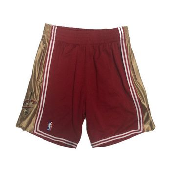 Cleveland Cavaliers 2003-2004 NBA Authentic Shorts Customized w/ Pockets