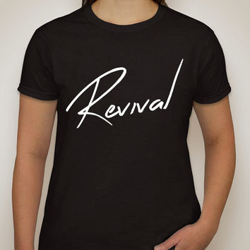 "Selena Gomez ""Revival"" Thin T-Shirt"
