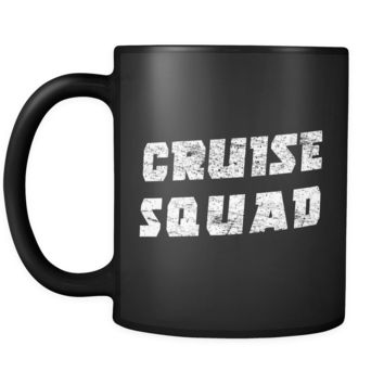 Cruise Squad Mug in Black