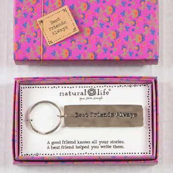 Best Friends Always Boxed Keychain