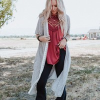 Talk Of The Town Trimmed Cardigan Sweater