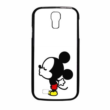 Mickey Mouse Kiss Samsung Galaxy S4 Case